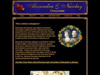 Alexandra and Nicolay Chocolates