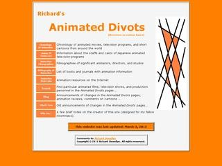 Richard's Animated Divots