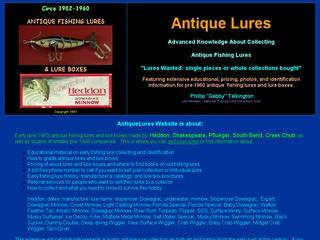Antique Lures and Lure Boxes