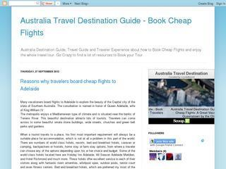 Australia Travel Destination Guide – Book Cheap Flights