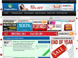 Coupon Codes India