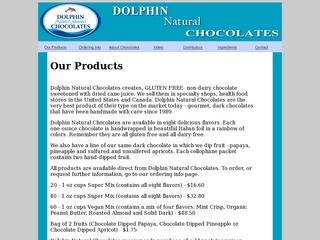 Dolphin Natural Chocolates