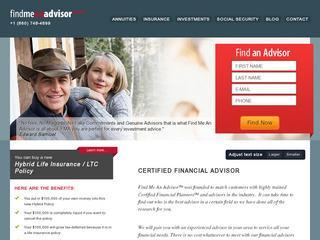 Find Me An Advisor Blog | Certified Financial Advisor