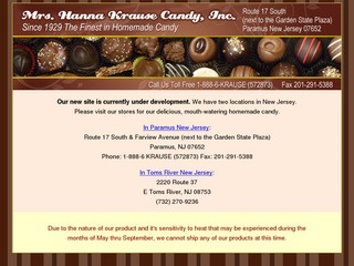 Mrs. Hanna Krause Candy, Inc.