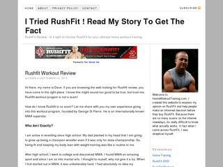 I Tried RushFit ! Read My Story To Get The Fact