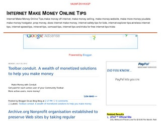 Internet Make Money Online Tips