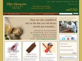 Rheo Thompson Chocolates