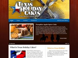 Texas Holiday Cakes