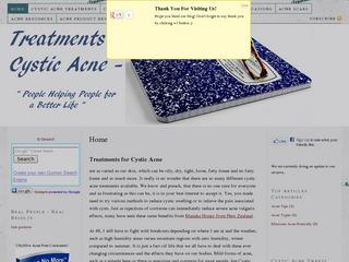 Treatments for Cystic Acne, Acne Volgaris and Nodular Acne.