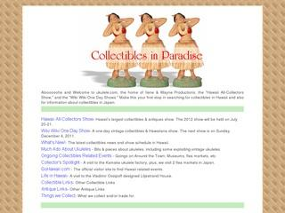 Ilene   Wayne Productions: Collectibles in Paradise