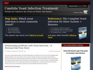 Candida Yeast Infection Treatment