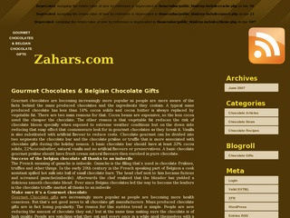 Zahars Chocolates